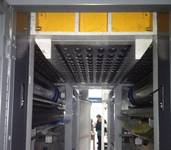 Light-printing type carton flexo printing machine supporting H-IR infrared drying system